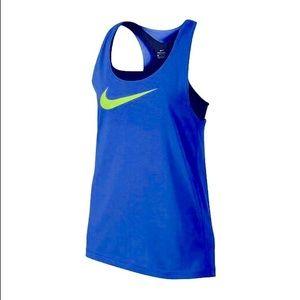 Nike Girls Breathe 2-in-1 Training Swoosh Tank